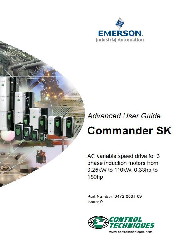 control techniques commander sk troubleshooting commander sk user guide commander sk troubleshooting by control emerson commander sk wiring diagram at alyssarenee.co