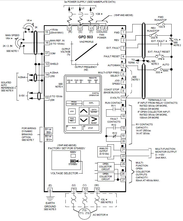 yaskawa vfd manual related keywords yaskawa vfd manual long tail vfd ac motor circuit diagram furthermore powerflex 753 drive manual